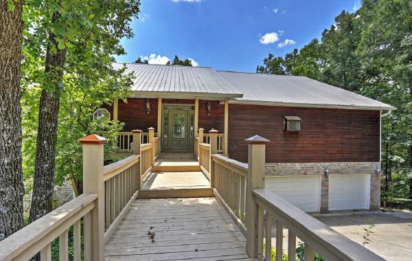 Rental home in Branson, Missouri