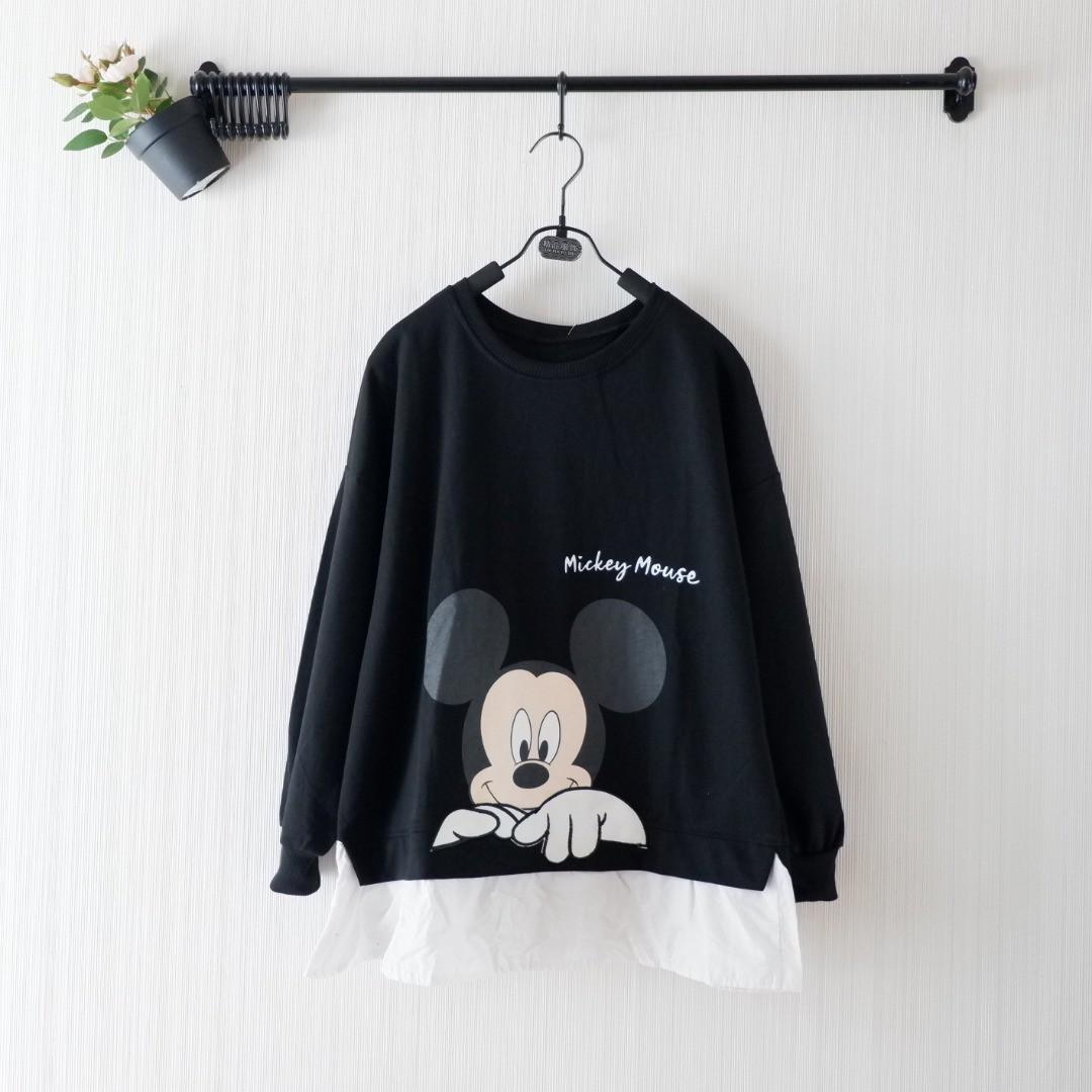 SC 873 Blouse Peeking Mickey