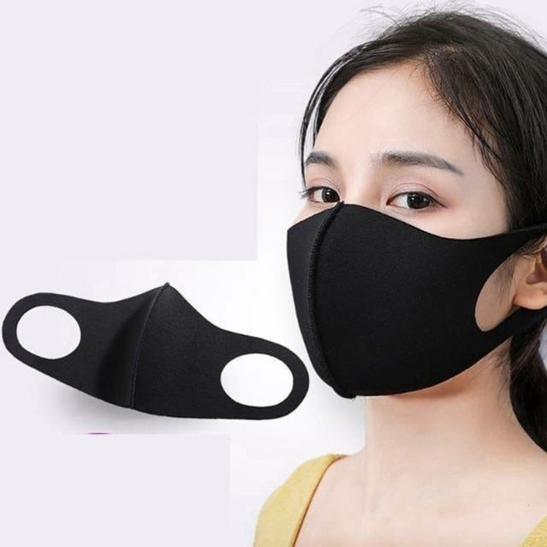 [6pcs dalam 1 Pack] New 3.0 Masker Scuba BLACK