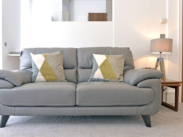 Stylish sofa of 1-bed Gresham House