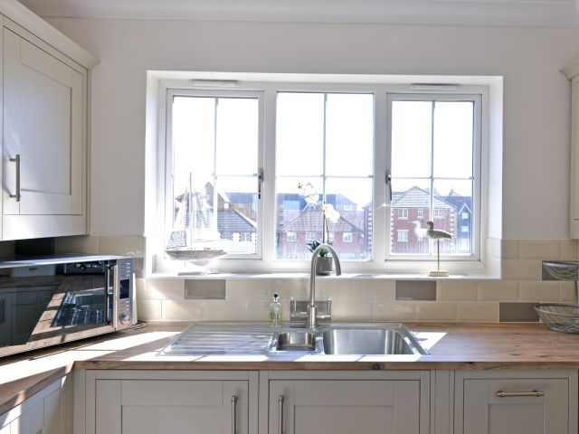 Kitchen of Pacific Heights apartment