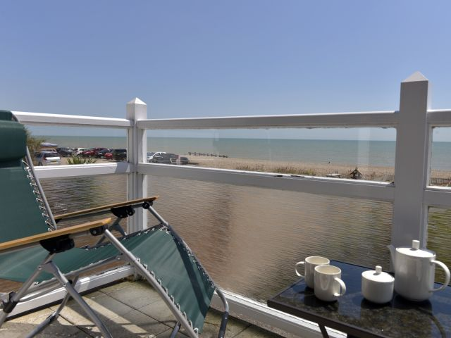 Balcony view to sea