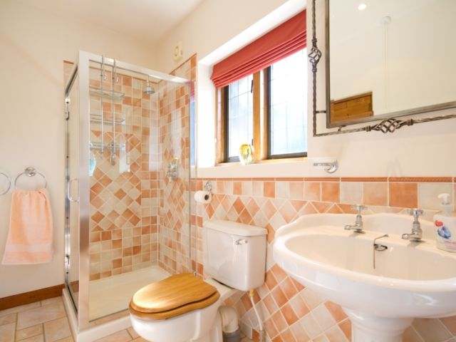 Bathroom ground floor to shower