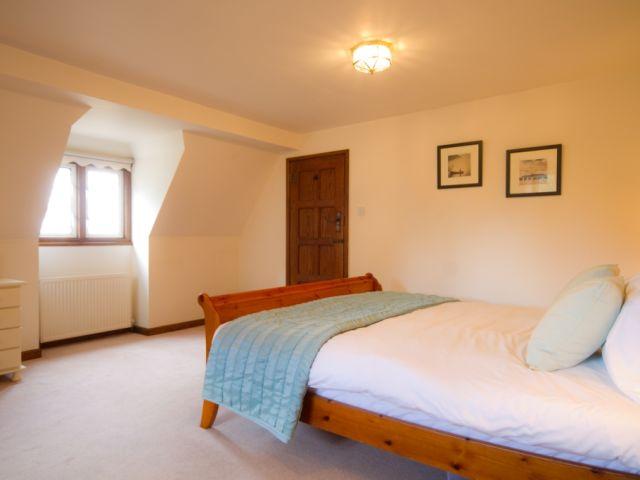 Master bedroom towards door