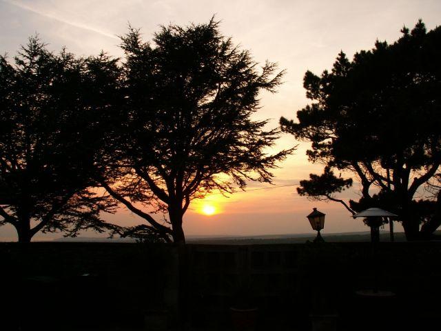 Sunset at Friston