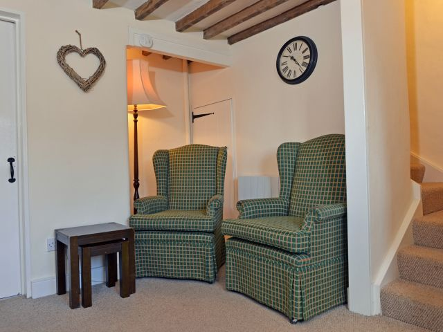 Lounge armchairs in South Downs holiday cottage