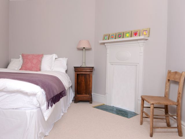 Second bedroom in South Downs holiday cottage