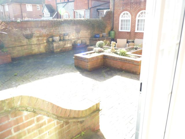 Courtyard of Coachman's Cottage