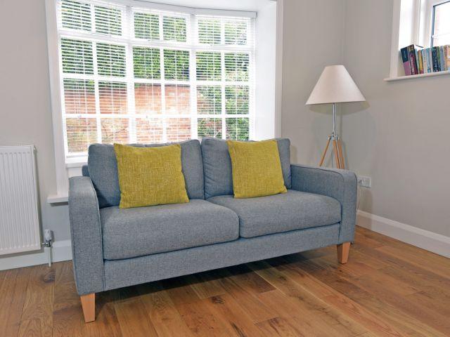 Sofa with reading light