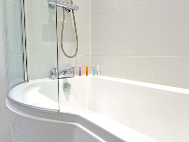 Bathroom of holiday cottage