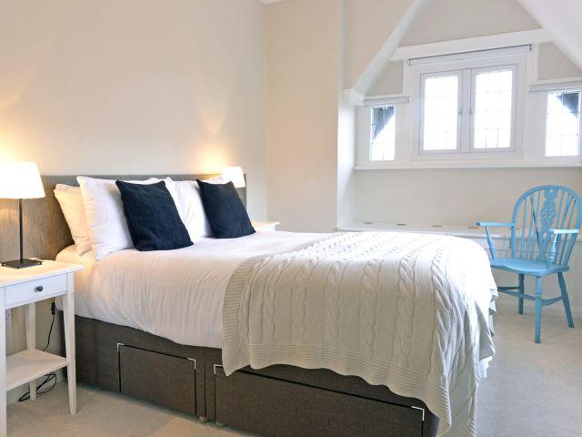 Double bedroom of Coachman's Cottage