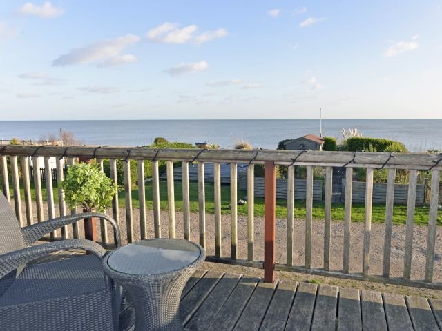 Sea views from Tides Cottage