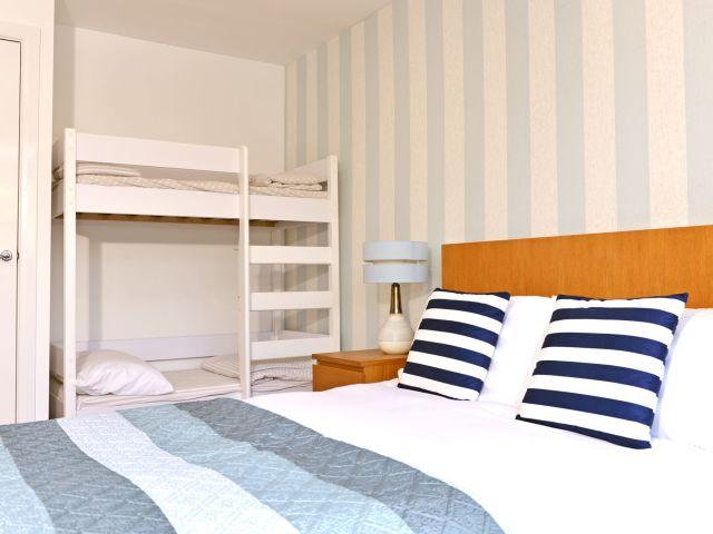 Bedroom 3 at Tides Cottage
