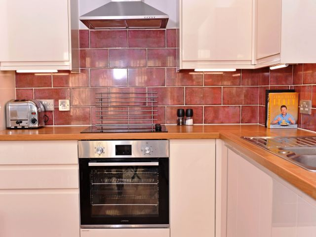 Kitchen of holiday home Eastbourne