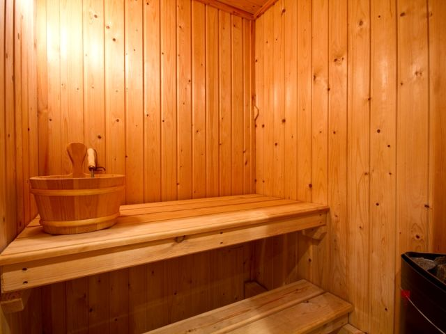 Private sauna in Littledale Haven