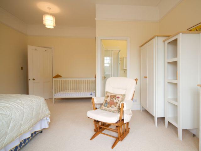 Master bedroom cot