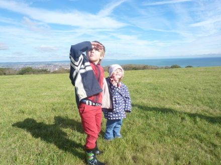Things to do in Eastbourne – Fly a kite on the South Downs!