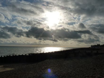 Brr, but beautiful in Eastbourne right now time to think of a holiday to warm you up?