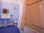 Blue bathroom thumbnail