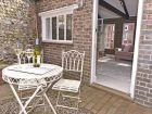 Private courtyard of Vine Cottage thumbnail