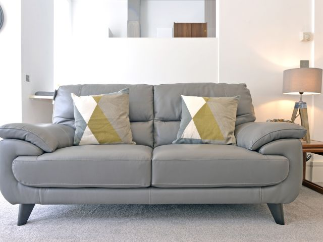 Stylish sofa of 1-bed Gresham House