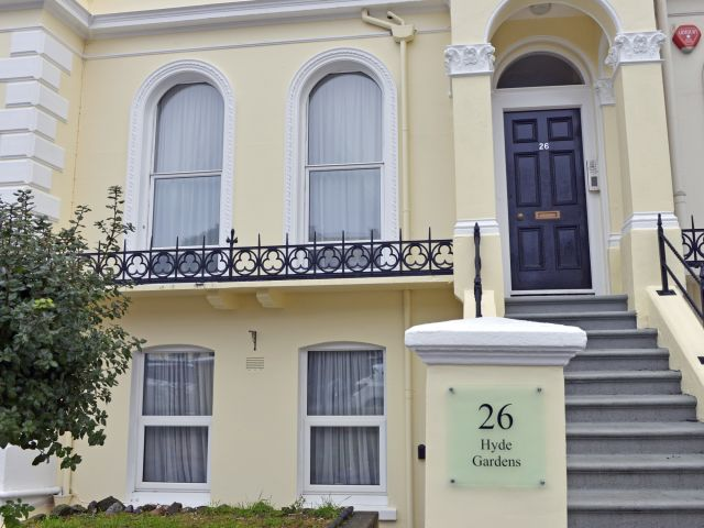 Exterior of Central Apartment in Eastbourne