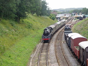 Bluebell Railway in East Sussex