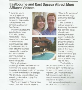 Sussex Business Times  March