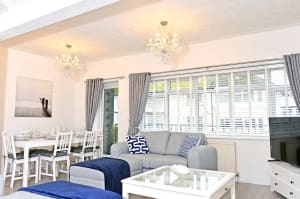 Holiday apartment in central Eastbourne