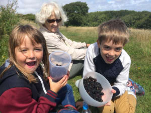 fanily holidays in eastbourne foraging