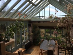 Conservatory for families and friends