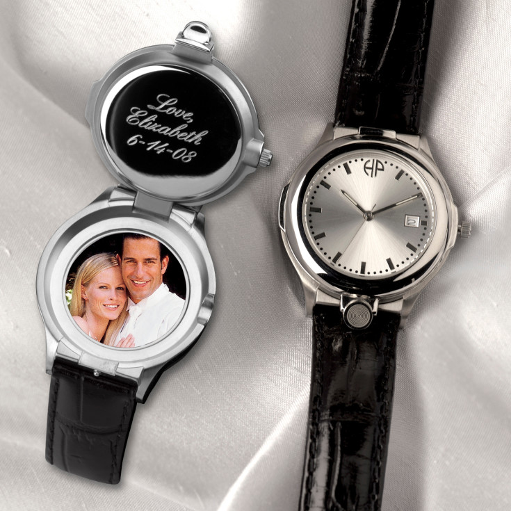 Mens Wedding Party Gifts: Personalized Keepsake Watch For Groomsmen