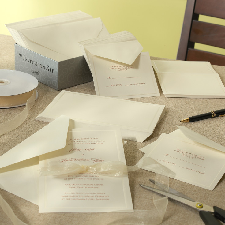 Diy Wedding Invitations Kits: Hartford Wedding Invitation Kit
