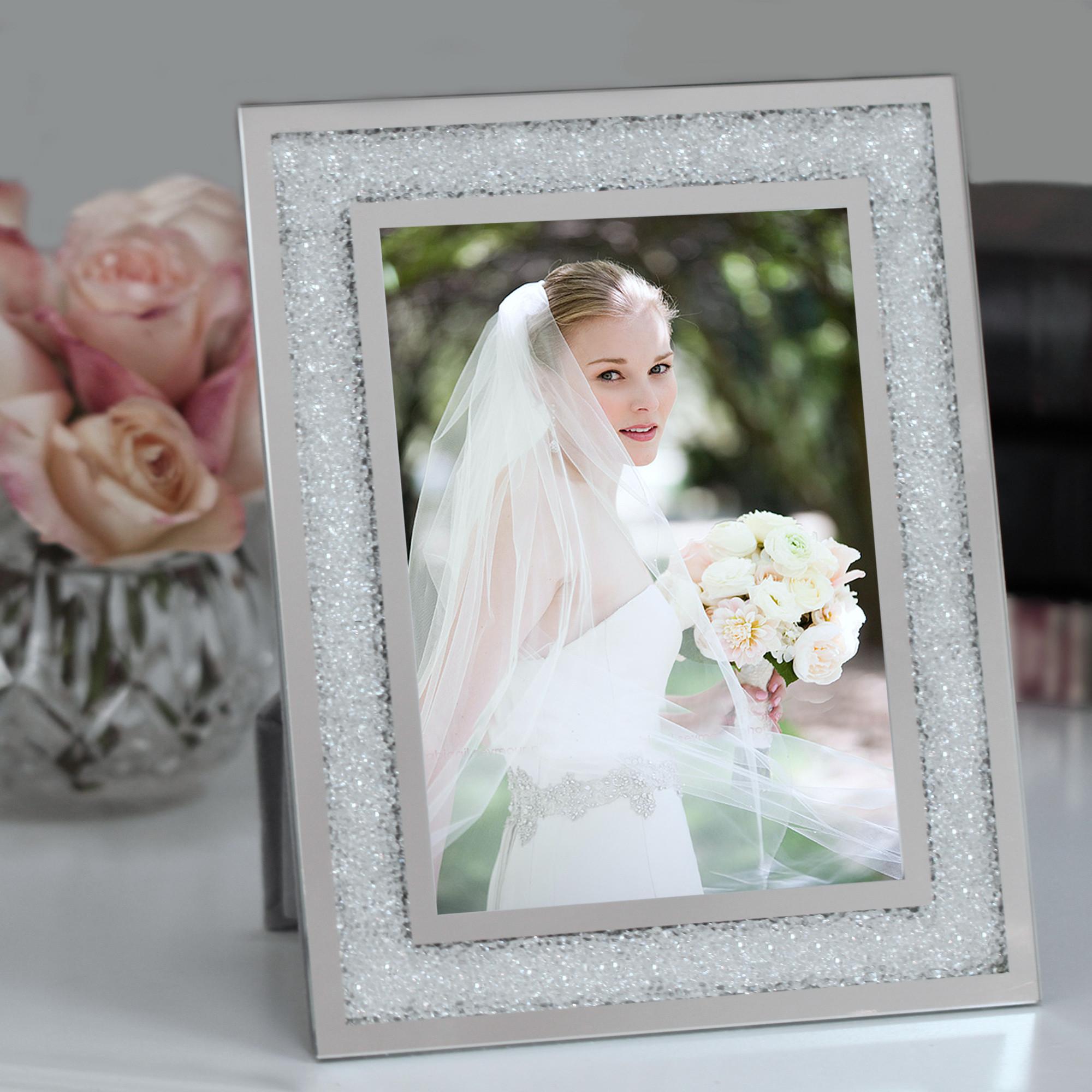 Crystal Wedding Frames Personalized - Best Frames 2018