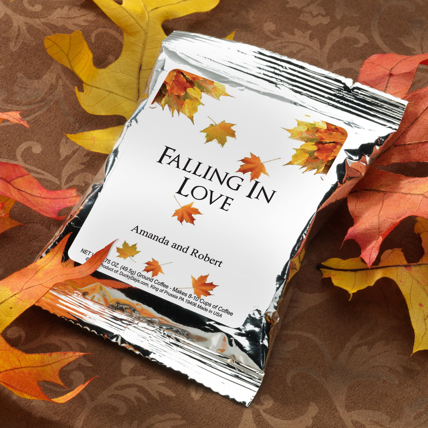 Inspirational Autumn themed Wedding Favors - Wedding