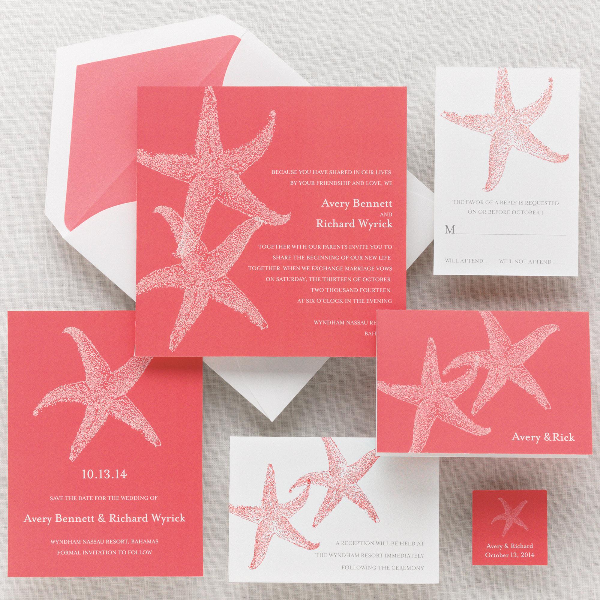 Starfish Invitation Kits Orderecigsjuice Info