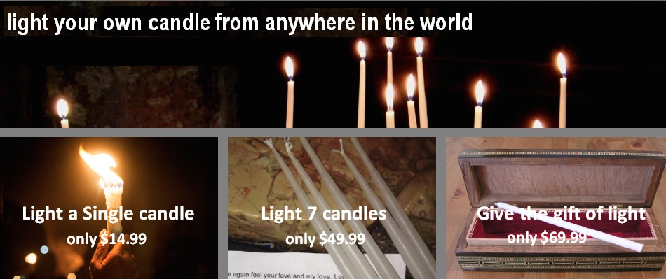 Inspirational Prayers For Lighting Candles
