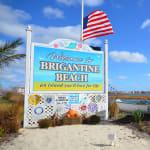 Brigantine Beach Sign