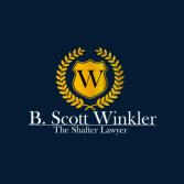 B. Scott Winkler The Shafter Lawyer