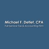 Michael F. Detlet, CPA