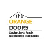 Orange Garage Doors