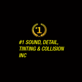 #1 Sound, Detail, Tinting & Collision Inc.
