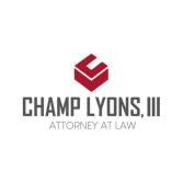 Champ Lyons, III, P.C.