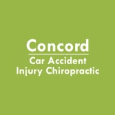 Concord Car Accident Injury Chiropractic