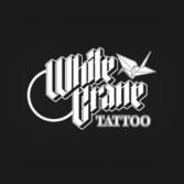 White Crane Tattoo