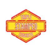 Triple Stamped Concrete