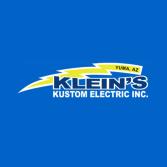 Klein's Kustom Electric Inc.