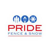 Pride Fence & Snow