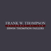 Frank W. Thompson Attorney At Law