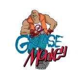 Grease Monkey Garage Door